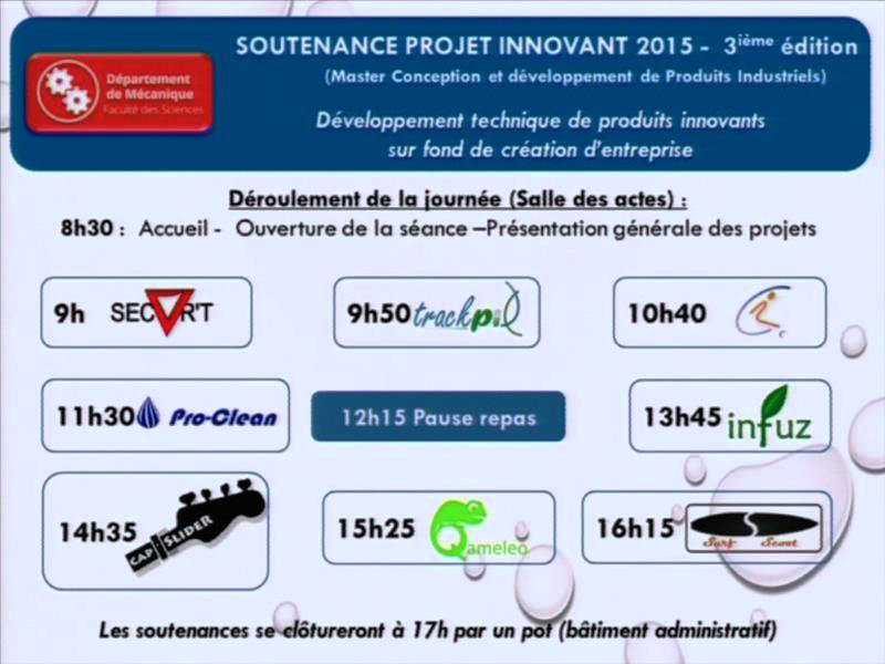 Projet Innovant 2015 - Pro-Clean